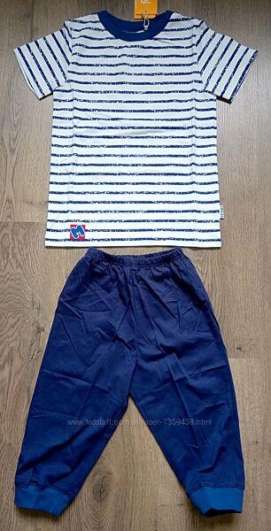 Пижама летняя р.128 футболка бриджи ТМ Бемби ПЖ44