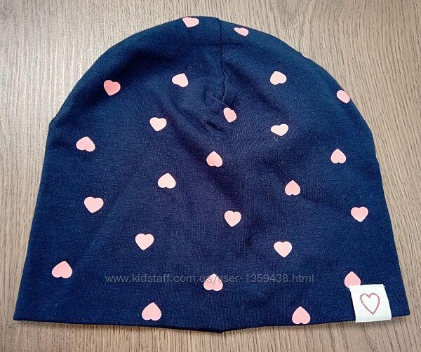 Красивая шапка б/у H&M для девочки рр.51-53 4-8лет