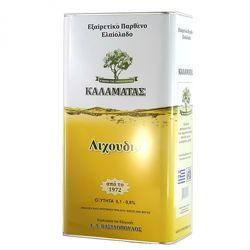 Оливковое масло 5, 3, 1л Extra Virgin Kalamata