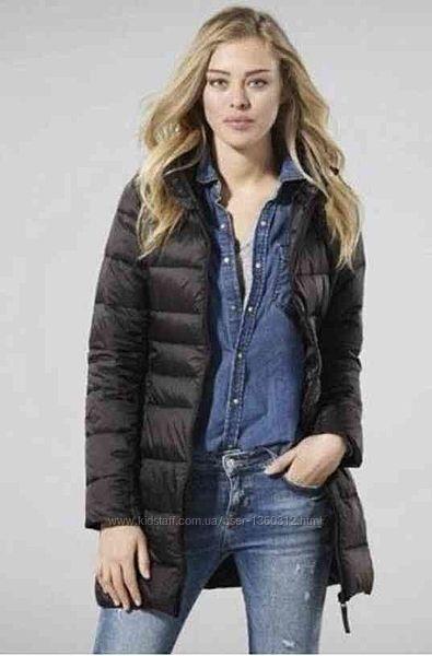 Классная стёганая куртка/пальто демисезонное Esmara Германия размер евро 36