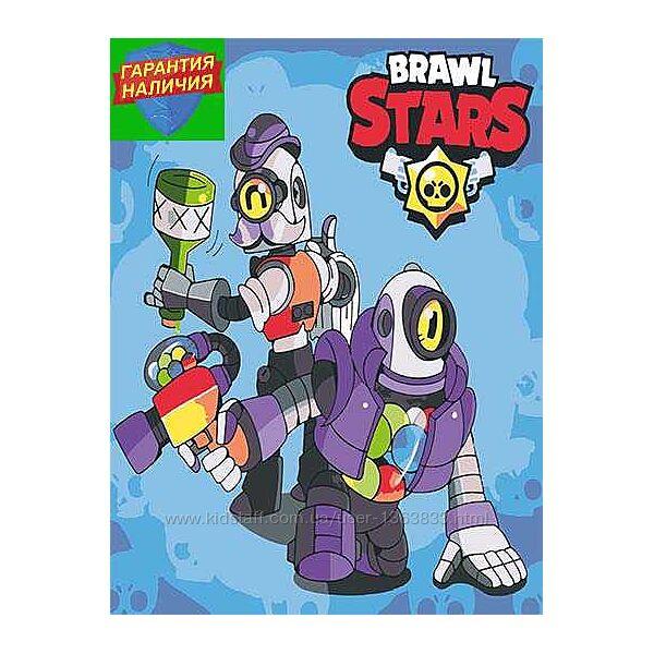 Картина по номерам Роботы Бравл Старс 40х50см Brawl Stars
