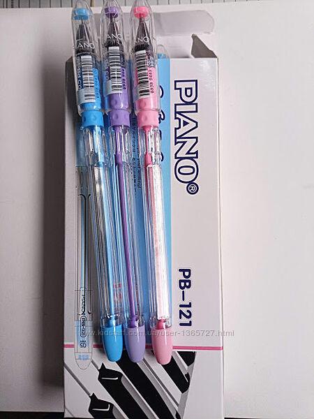 Шариковая ручка Piano PB-121 с чернилами на масляной основе синяя