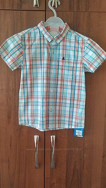 Рубашка для мальчика Rebel Primark р. 5-6 лет 116 см