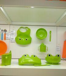 Під викуп ikea Mata Набор посуды Икеа Мата Жабка для детей