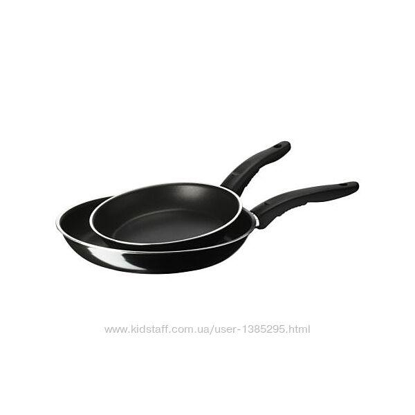 В дорозі набір сковорідок ikea Kavalkad 20 і 26 см