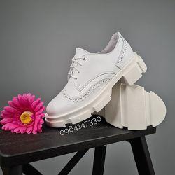 Женские туфли из натуральной кожи