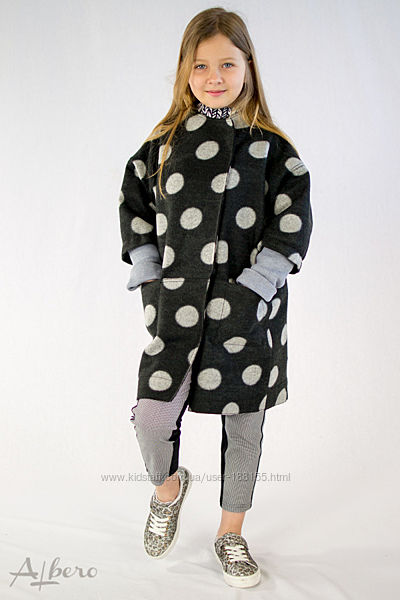 Пальто для дівчинки 3 моделі