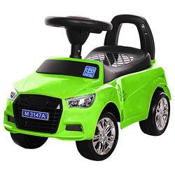 Бембі Ауді M 3147А машинка каталка толокар дитяча Bambi Audi світло