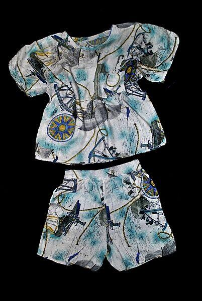 Комплект топ и шорты пижама летняя интересная модная на девочку