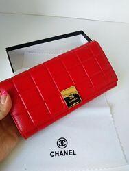 Женский кожаный кошелек Chanel