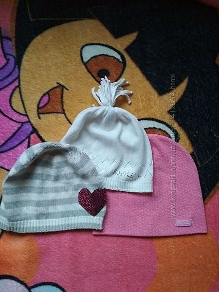 Дитячі шапочки для дівчинки