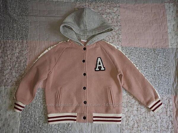 Куртка с капюшоном для девочки zara