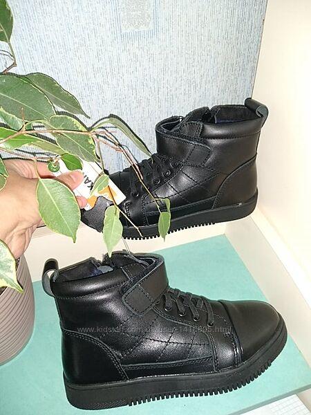 Шикарна шкіра-кожа хайтопи-черевики зимові фірми KANGFU