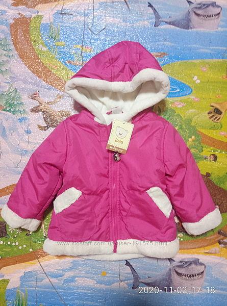 Куртка на девочку р 80