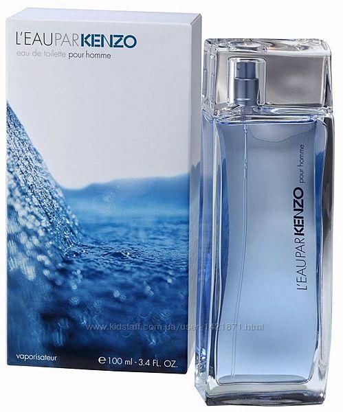 Kenzo l&acuteeau par pour homme мужская туалетная вода 100 мл