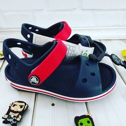 Оригинал Босоножки Crocs crocband sandals C6, C7, C8, C9, C11, C12, C13, J1, J2 22