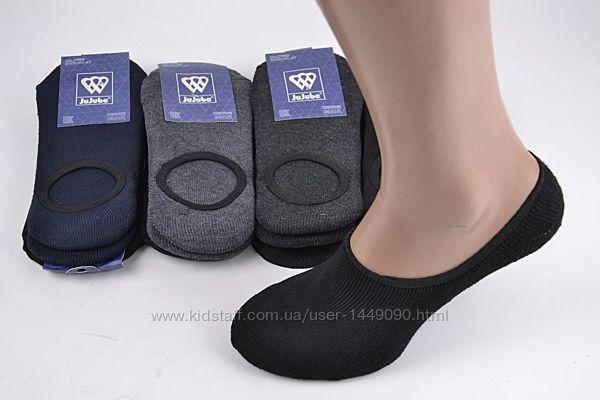 Махровые носки следы с силиконом  , хб, 4147,  12 пар за 300 грн