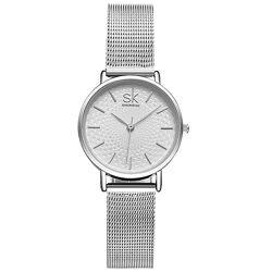 Женские Наручные Часы Shengke 0006 Sliver