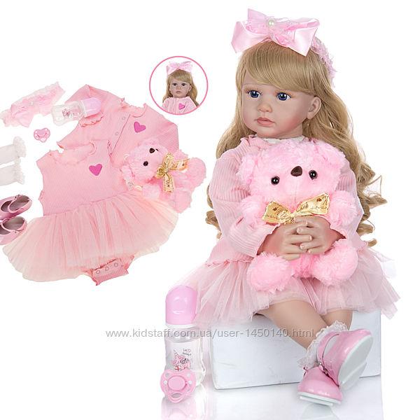 Детская кукла реборн девочка 60 см