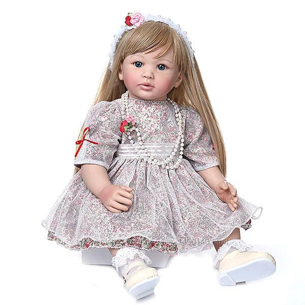 Кукла Реборн Reborn Девочка Высота 60 См