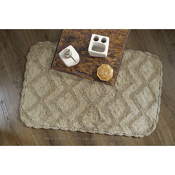 Набор ковриков Irya - Cora gri серый 50-80.35-55