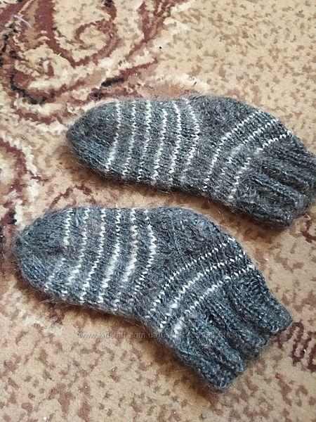 Пуховые детские носки, носочки теплые, зимнии