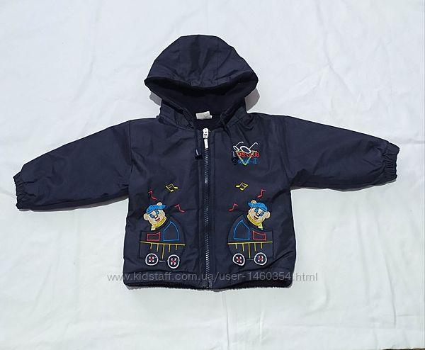 Демисезонная Куртка на 1-2 года. Цвет черный