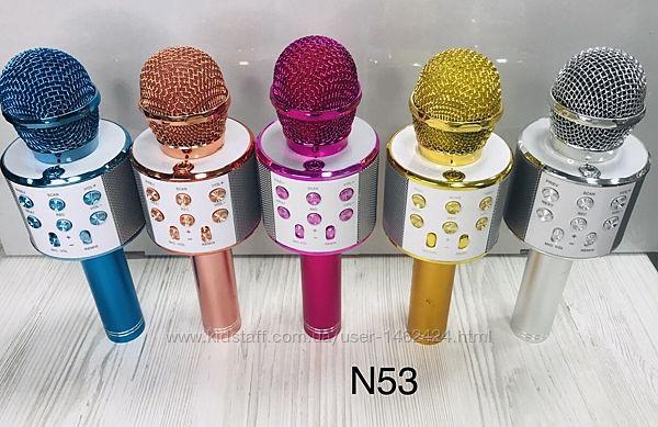 Микрофон- караоке , блютуз, колонка WS 858