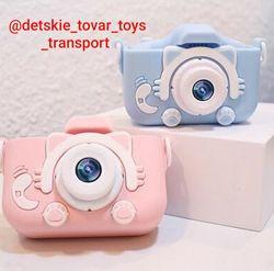 Детский цифровой фотоаппарат котики