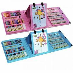 Набор для детского творчества в чемодане из 208 предметов набор для рисован
