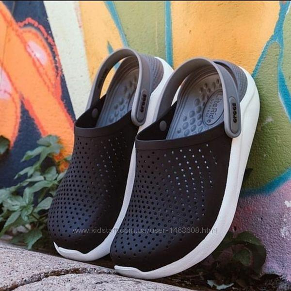 Летние мужские кроксы Crocs LiteRide оригинал, в ассортименте
