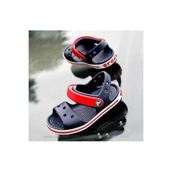 Детские сандалии Crocs Kids Bayaband для мальчиков и девочек, оригинал