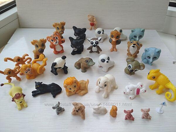 Игровые фигурки животные Kinder и другие