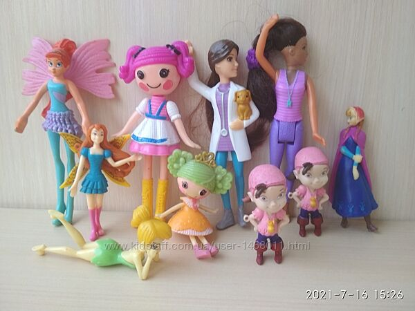 Куклы, феи, фигурки Kinder maxi, McDonald&acutes, киндер