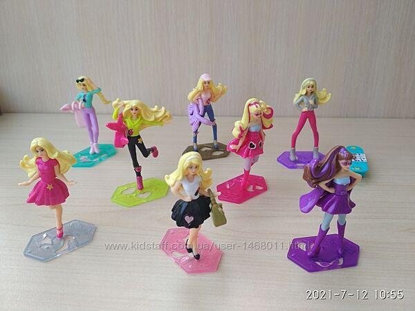 Kinder Барби, винкс, веселый класс и другие серии