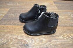Новые детские демисезонные ботинки George 22 размер 13,5 см стелька