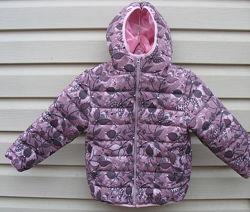 Стеганная курточка для модниц. Размеры от 92 до 128