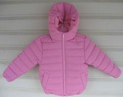 Стеганная курточкаа для модниц. Размер от 92 до 122