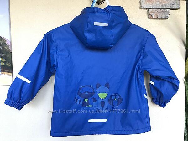 Куртка ветровка дождевик на флисе Impidimpi, р. 110-116