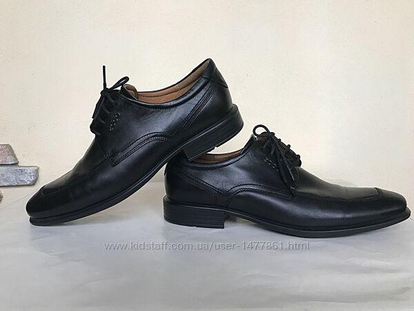 Туфли Ecco натуральная кожа, р.43