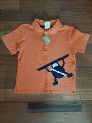 Оранжевая футболка-поло Crazy8