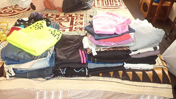 Пакет вещей на девочку подростка разные размеры