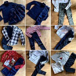 Пакет речей для дівчинки від Zara, Mango, HM, Primar