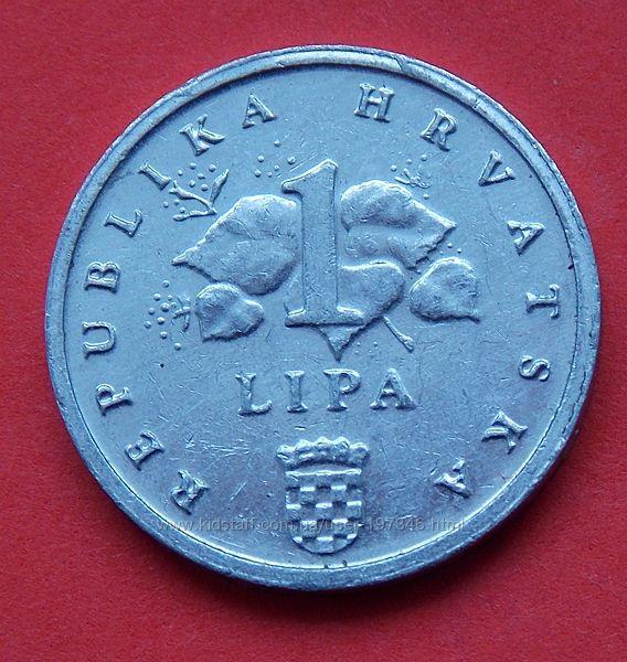 Монета хорватии 1 липа