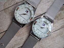 Часы Tommy Hilfiger с миланским браслетом
