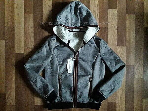 Женская демисезонная куртка rinascimento металлик, s.