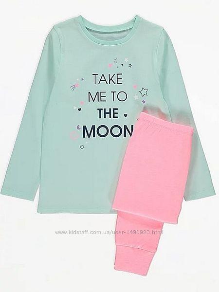 Пижама детская для девочки george 210102