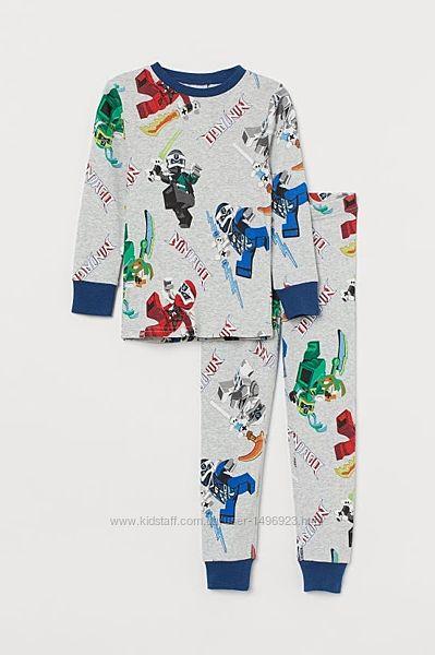 Пижама детская Ninjago для мальчика H&M 210309