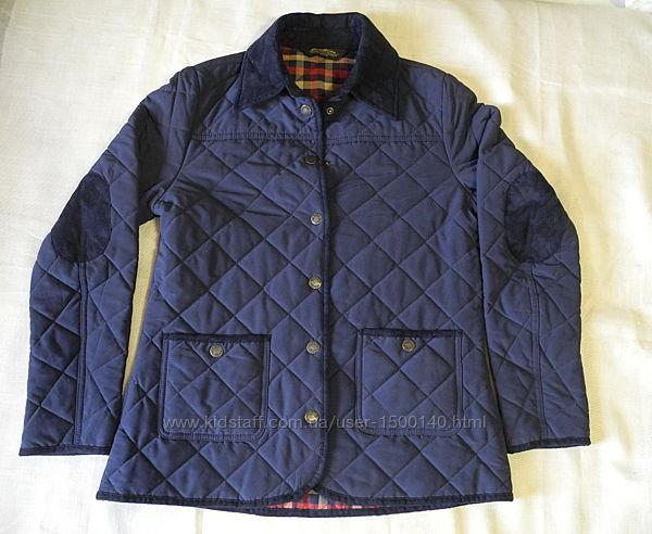 Женская стеганая синяя куртка Еddie Вaurer USA р. 44 М