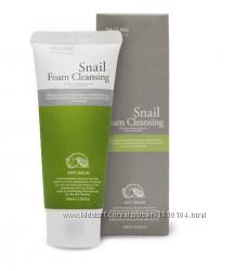 Пенка улиточная 3W Clinic Snail Foam Cleansing